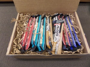 Box of Clif Mojo Bars