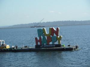 Run Happy boat