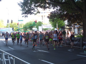 Elite athletes off to a running start