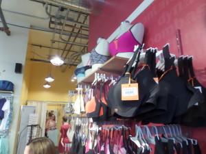 Sporty bras in all sizes