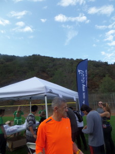 Day of race, Packet Pickup