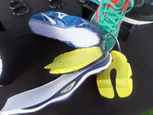 Break it down: the components of the Mizuno sole