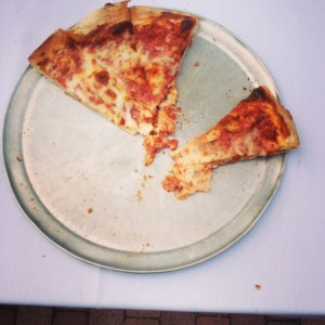 P is for Pizza, that's good enough for me...