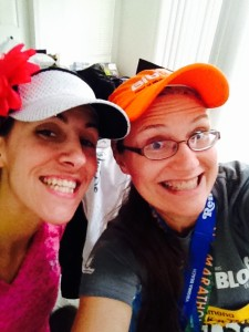 Proof I went to Virginia Beach and ran with Meghan!
