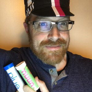 Andrew--find him on twitter @smartwatermelon--uses Nuun Plus in tri training