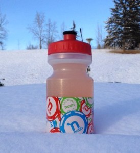 The Nuun Vegas bottle, courtesy of @crantina