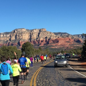 Scenery and runners