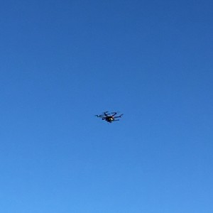 """""""sedrona""""? Completely blue skies made for good photo drone weather at the start"""