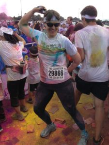 Post Race Posing at The Color Run