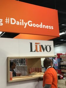 The Luvo kitchen at Natural Products Expo West