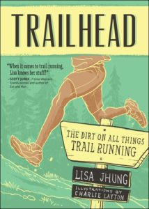 Trailhead by Lisa Jhung with illustrations by Charlie Layton (image from VeloPress)