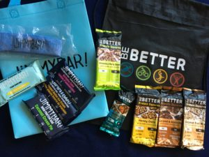 Jimmy Bar and Be Better bars prizes