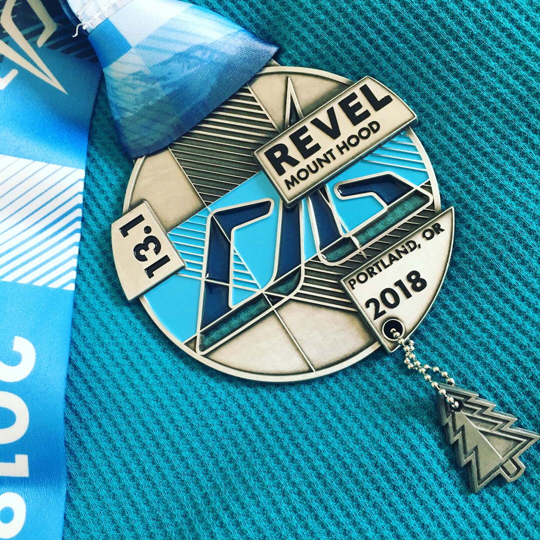 Sweet bling from the inaugural Revel Mt. Hood. Read the review, and register to run!