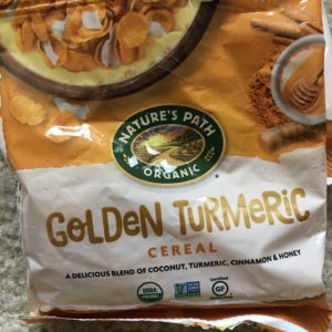 Golden Turmeric cereal