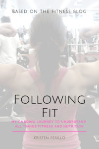 Following Fit book cover
