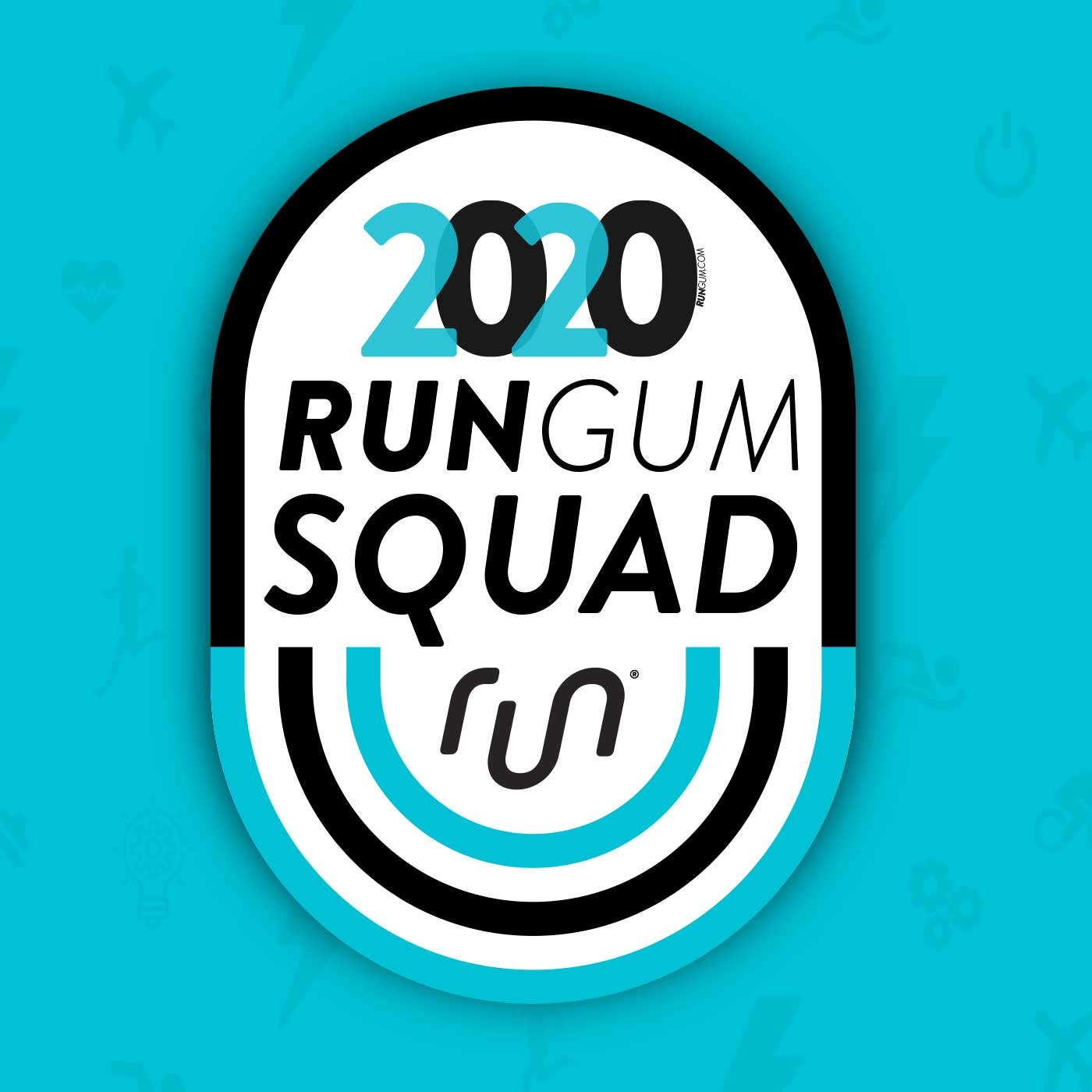 Run Gum Ambassador Badge