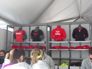 Nike DC finisher merch