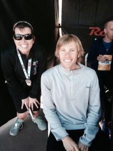Ryan Hall, aka the Surfer Jesus Runner