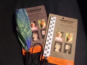 Lemonheads headband and ponytail holder in one