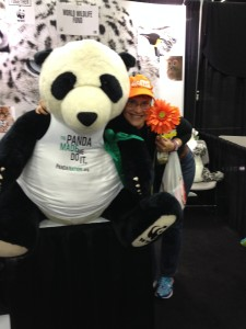 Seem to have lost the Scientology photo. So here is me with a giant panda!