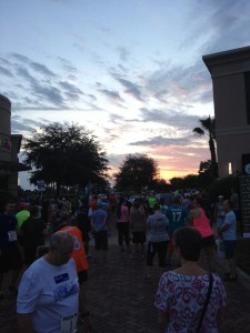 Sunrise over Runners!