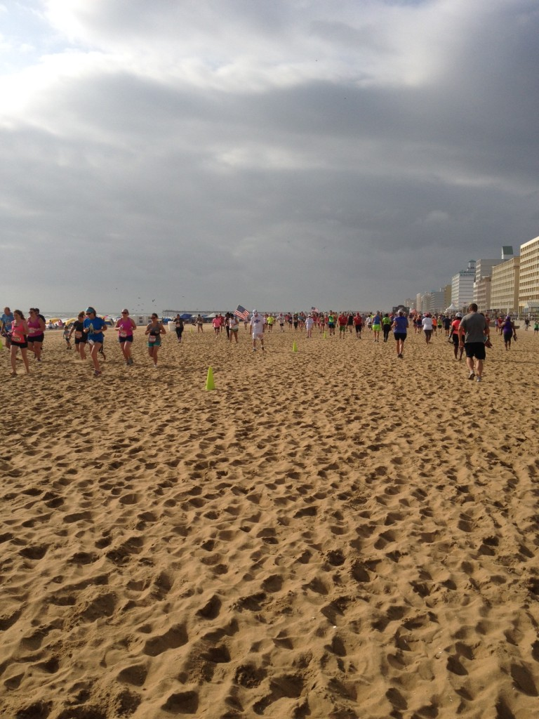 Runners on the Sand