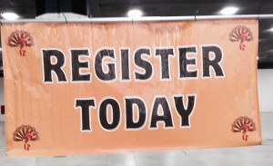 You probably can't register today for a 2016 turkey trot...but soon!