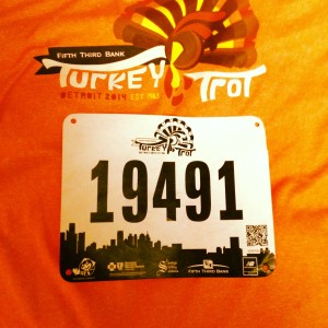 Detroit Turkey Trot 2014 gear