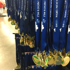 Mashed Potato Mile-rs get the same bling, different ribbon