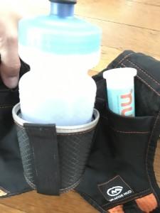 Rear View (bottle strap adjusted for smaller bottle)