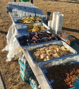 Post-race snacks? Yes, please! #EatAllTheFoods