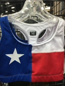 The only thing Texans love more than the shape of their state? The Texas flag.