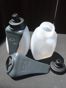 Venture comes with two bottles and their clips