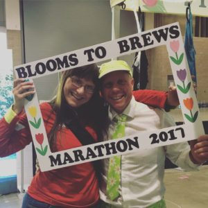 In case you missed it, I ran Blooms to Brews this year and LOVED it!