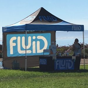 "Until race day, I didn't know ""Fluid"" was a brand name (and not a generic for ""some type of electrolyte beverage""). Post-race, I sampled the cinnamon vanilla recovery beverage--it is vegan and soy-free--and let me tell you, it tasted like chai. #nomnom"