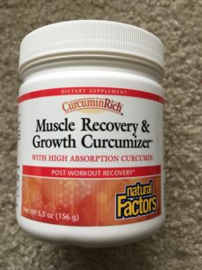 natural Factors Muscle Recovery and