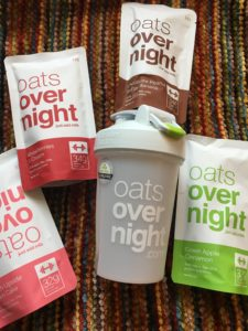 Oats Overnight items included in the prize
